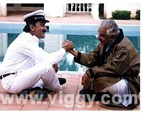 Ramesh and Dattanna in film Joke Falls