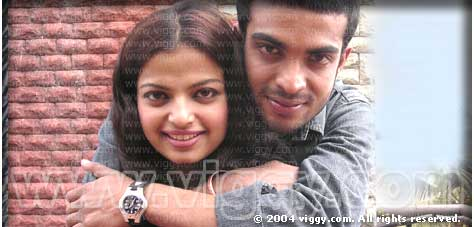 Vivek Beedu and Mallika in O Gulabiye